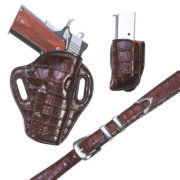 Exoctic Belt – Cognac Crocodile – Belt only – El Paso Saddlery