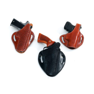 "1942 ""Tanker"" Holster – 3″ to 5″ Barrels – El Paso Saddlery"
